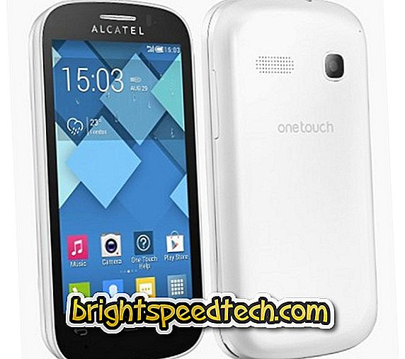Odomknite vzor Alcatel One Touch Pop C3 - Alcatel