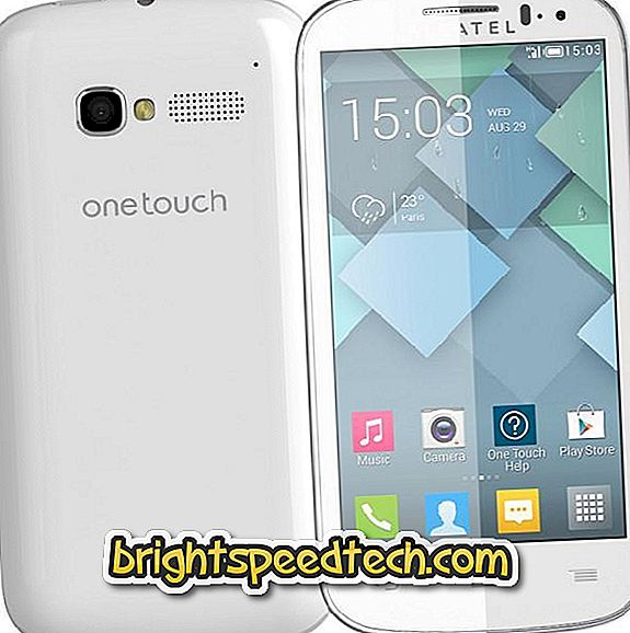 Alcatel One Touch Pop C5, C6 és C7 formázása - Alcatel