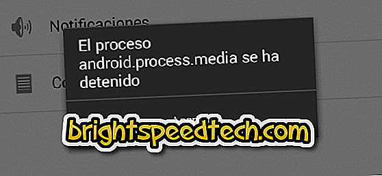 Android.Process.Media Solution Stopped - androide