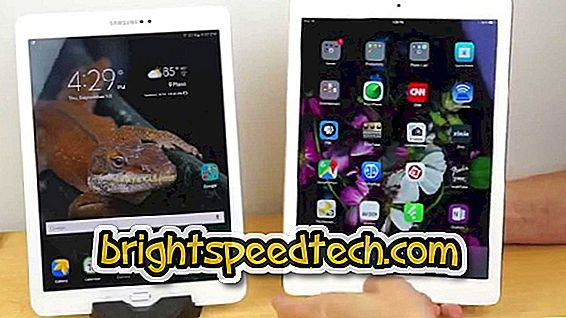 Samsung Galaxy Tab S2 9.7 vs iPad Air 2: Care dintre victorii? - compara mobil