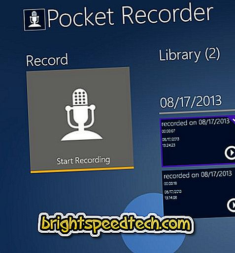 Lataa Pocket Recorder Android