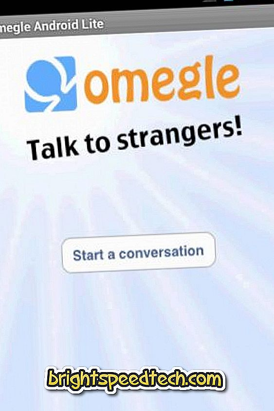 Come scaricare Omegle per Android - download