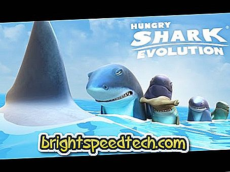 Otvori vrata rakova u Hungry Shark Evolution - Android igre