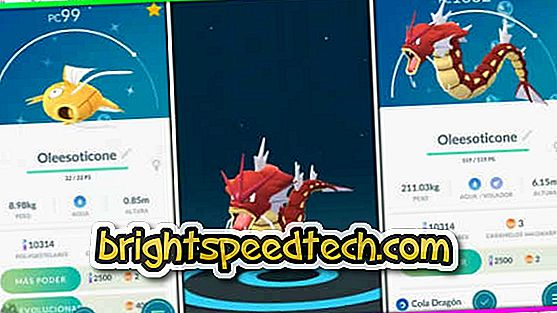 Kuidas võtta Red Gyarados Pokémon Go - pokemon minna